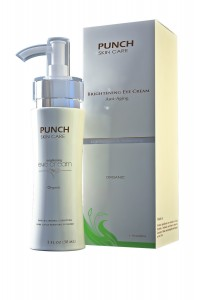 Punch Skin Care Brightening Eye Cream