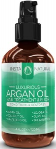 Argan Oil Hair Treatment - Leave in Conditioner by InstaNatural
