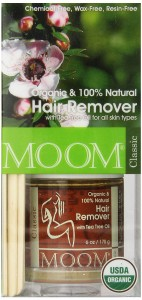 Moom Organic Hair Removal Kit