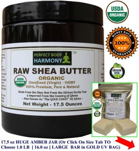Raw Shea Butter by Perfect Body Harmony