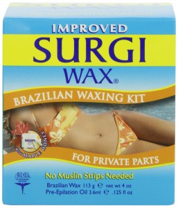 Surgi-wax Brazilian Waxing Kit For Private Parts
