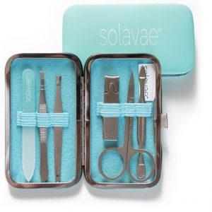 Solavae 6 Pce Manicure/Pedicure Kit