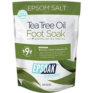 Tea Tree Oil Foot Soak from San Francisco Salt Company