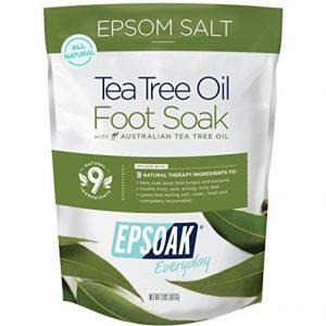 Tea Tree Oil Foot Soak from San Francisco Salt Company