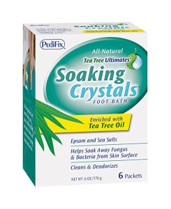 Soaking Crystals Foot Bath by Pedifix