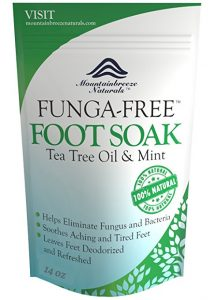 Tea Tree Oil Foot Soak by Mountainbreeze Naturals