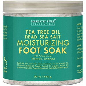 Tea Tree Essential Oil Foot Soak by Majestic Pure