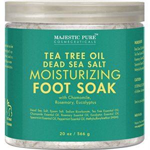 Tea Tree Essential Oil Foot Soak by Majestic Pure