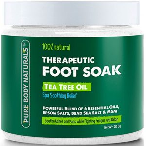Pure Body Naturals Tea Tree Oil Foot Soak