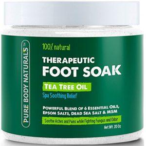 Pure Body Naturals Tea Tree Oil Foot Soak